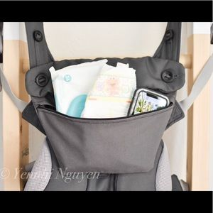 Other - Ergo baby 360 carrier grey canvas pouch bag